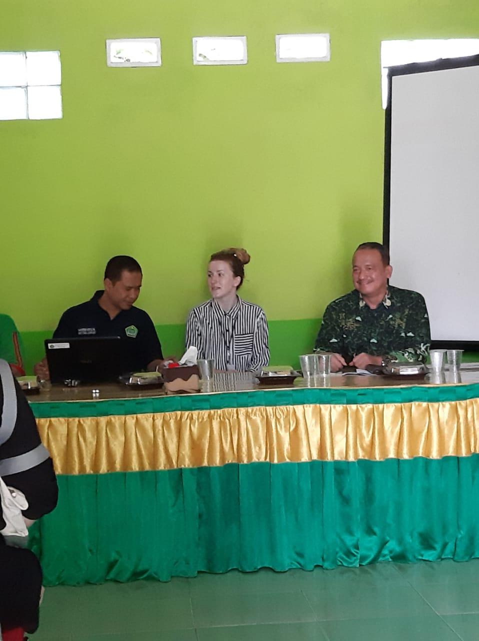 Welcome to State Islamic JHS 1 Bandar Lampung, Miss Marketa