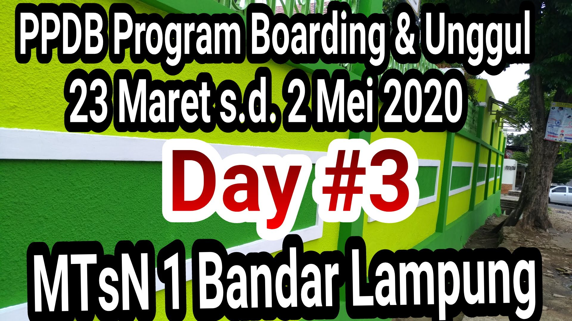 PPDB Online Program Unggul & Boarding Day #3