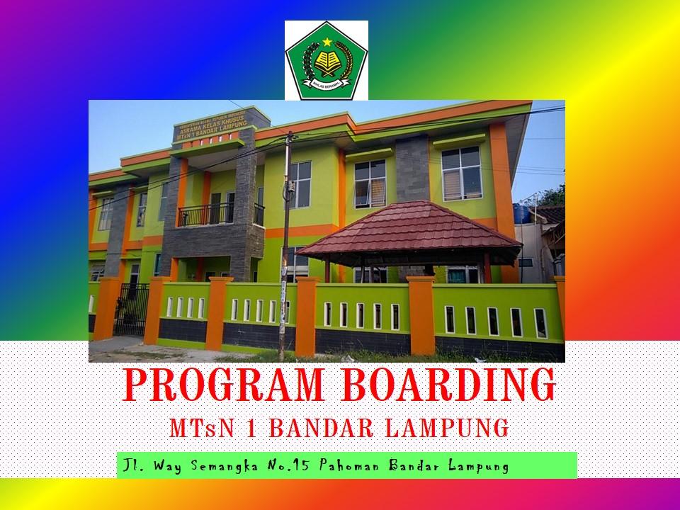 Mengenal Asrama MTsN 1 Bandar Lampung