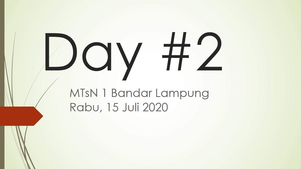 Masa Pengenalan Lingkungan Madrasah T.P. 2020-2021